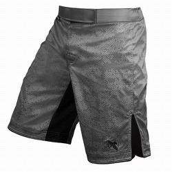 Hexagon Fight Shorts grey 1