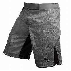 Hexagon Fight Shorts grey 1