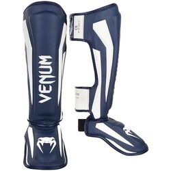 Elite Standup Shin guards whitenavy1