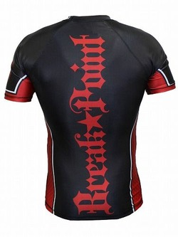 Elite Rash Guard Red3