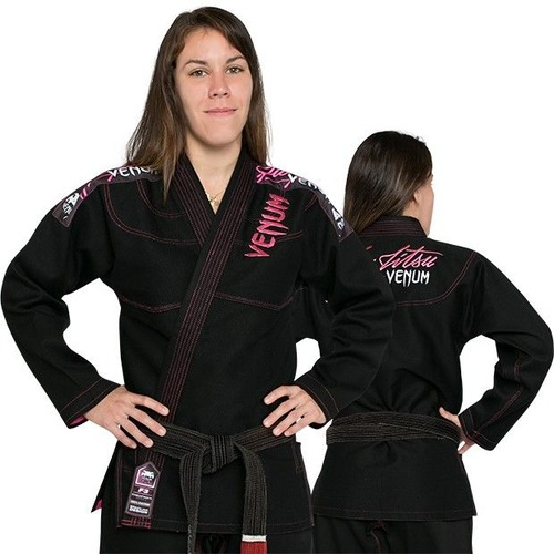 0 WOMEN BJJ GI - BLACK 1