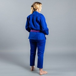 Standard Issue BJJ Gi Female Cut blue3