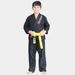 KIMONO KIDS REFORCADO black 1