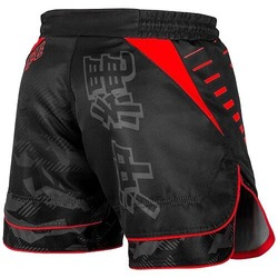 Okinawa 20 Fightshorts blackred3