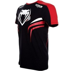T-shirt Venum Shockwave 2  Bk Red3