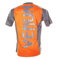 Combat Dry Fit Tee orange Gray 2