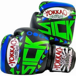 Sick Muay Thai Boxing Gloves BlueGreen 1
