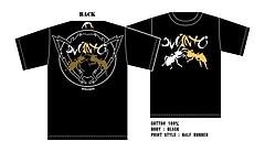 Take-shit×Manto Tシャツ ver.2 黒