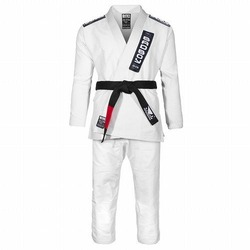 Training Series Defender BJJ Gi white1