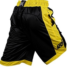 Shorts Ringside Bk Yellow2