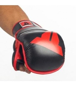 MMA Training Gloves Black1