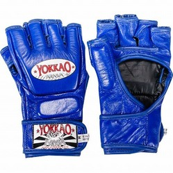 Blue Competition MMA Glove with Thumb1