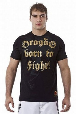 Tshirts Born to Fight Bk1