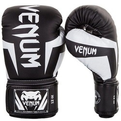 Elite Boxing Gloves blackwhite 1