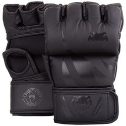 Challenger MMA Gloves without thumb blackblack 1