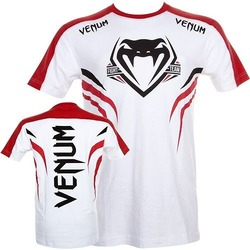 T-shirt Venum Shockwave 2 Wt Red1