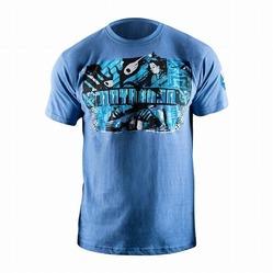 Samurai T-Shirt blue 1a