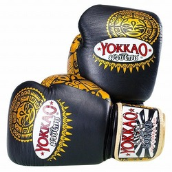 Maui BlackGold Boxing Gloves1