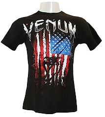 VENUM Tシャツ American Flag 黒