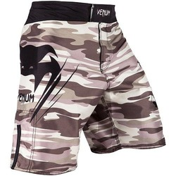 Wave Camo Fightshorts brown1