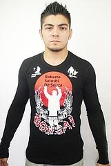 BULL TERRIER サーマルシャツ ホベルト・ソウザ 黒