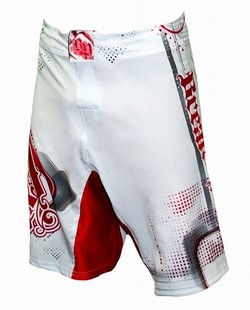 Progression WhiteRed Shorts1