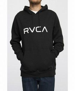BIG RVCA Hoodie blk 1