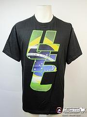 UFC Tシャツ BRAZIL 黒