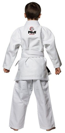 All Around Kids BJJ Gi White 2