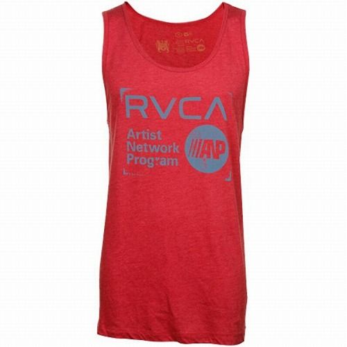 Stamp Tank Top Red1