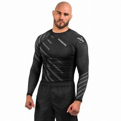 Metaru Rash Guard LS grey1