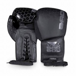 Legacy 20 Boxing Gloves Lace Up black1