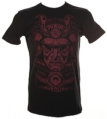 T-shirts Samourai Mask Black 1