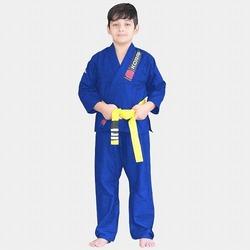 KIMONO KIDS REFORCADO blue 1