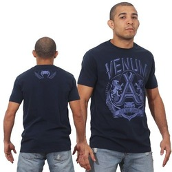 T-shirt Venum Jose Aldo Lion Blue1