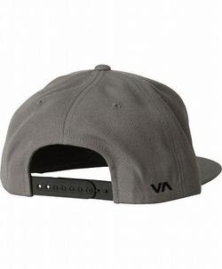 RVCA Twill Snapback III Hat gray2