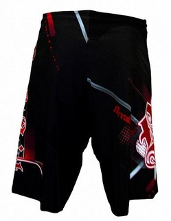 Progression BlackRed Shorts 3