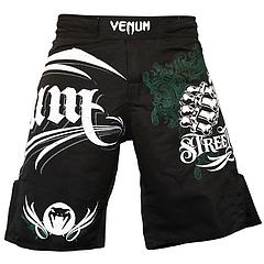 VENUM ファイトショーツ Street Fight 黒
