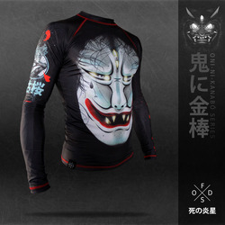 枯桜 The dead sakura tree RASHGUARD 1