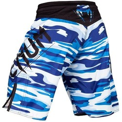 Wave Camo Fightshorts blue3