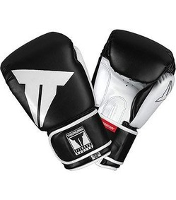 Hybrid Stand Up Gloves Black White