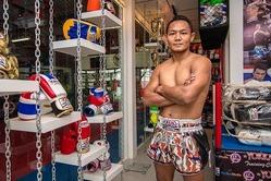 YOKKAO ATTACK Carbon Muay Thai Shorts 2
