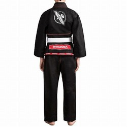 Gold Weave Youth Jiu Jitsu Gi black 2
