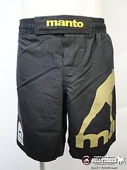 manto japan コンバットパンツ 黒/金