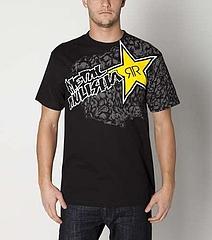 Tshirt-Rockstar Membrane Black1