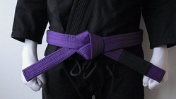 BLACK SAINT purple Belt 1