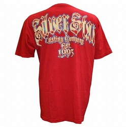 Tee Old School  Red2