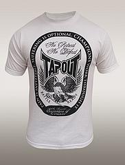 TAPOUT Tシャツ No Retreat 白
