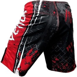Shorts Korean Zombie UFC 163 BK Red3