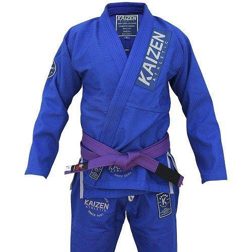 Kaizen Athletic Competitor BJJ Kimono blue 1